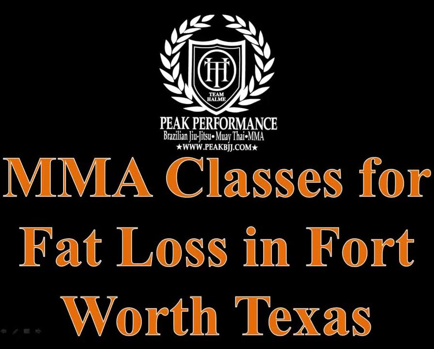 MMA Classes for Fat Loss in Fort Worth Texas