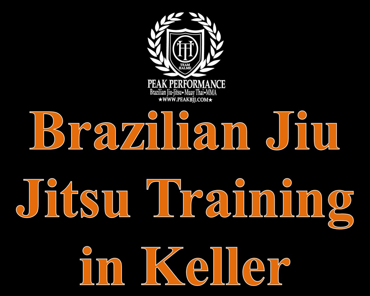 Brazilian Jiu Jitsu Training in Keller