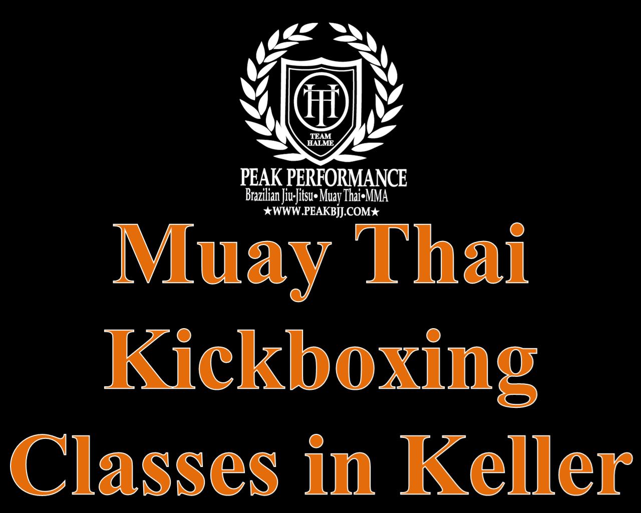 Muay Thai Kickboxing Classes in Keller